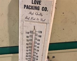 Antique local thermometer