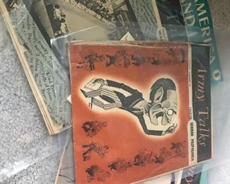Many antique and vintage magazines