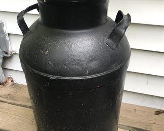 Vintage milk can