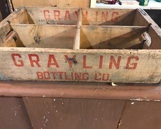 Vintage Grayling bottle company