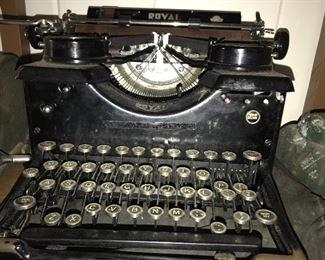 1930's Royal typewriter