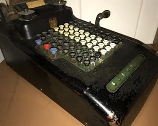 Victor adding machine 1920's
