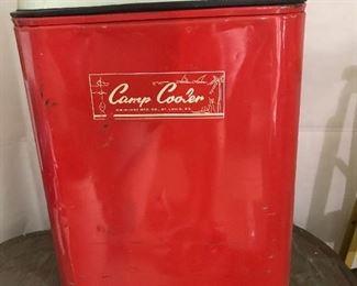 Vintage Camp Cooler by Kwik Way