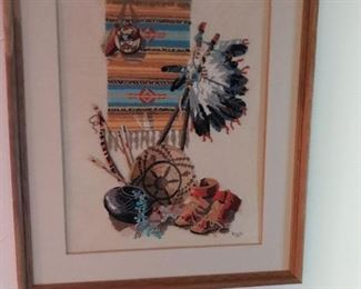 Western cross-stitch by Boots