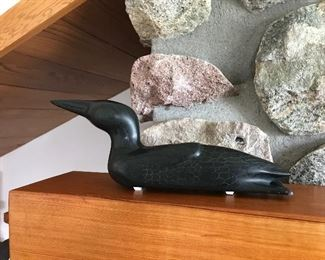 Inuit loon signed and numbered
