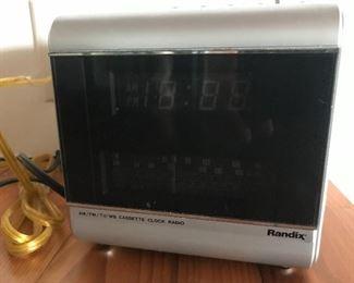 Randix radio/ alarm clock