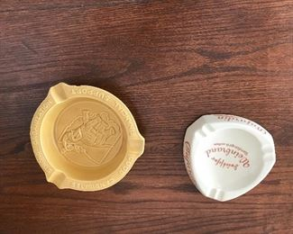 Vintage ashtrays