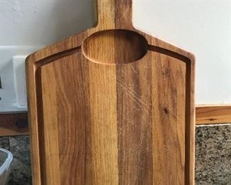 Nice heavy cutting board