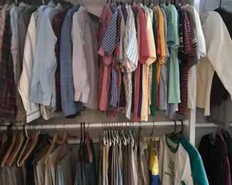 Men's clothing, small
