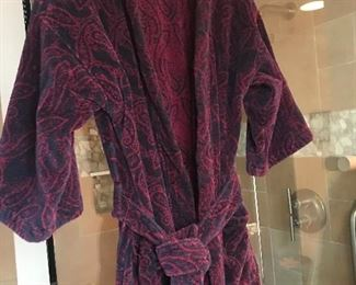 Christian Dior robe - freshly laundered