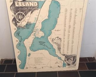 Map of Leland