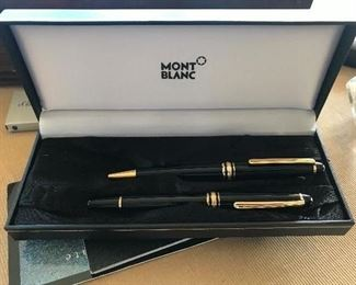 Mont Blanc pen set