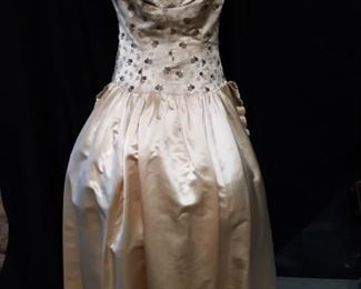 Antique Handmade ball gown