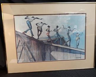 Ernie Barnes Art