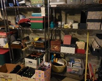 Misc office supplies, storage, etc.