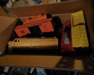 Lionel train set with track, etc.