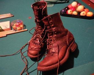 Vintage White's Smokejumper boots