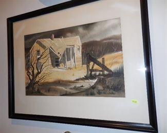 Watercolor by Paul Davis