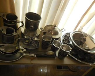 Wilton pewter pieces included some hard-to-find
