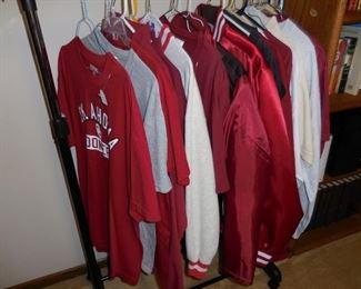 University of Oklahoma t-shirts and jackets