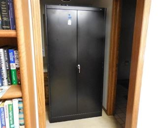 Large metal storage cabinet