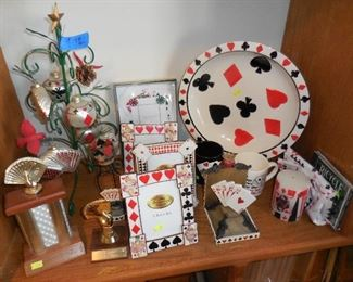 Playing card related items