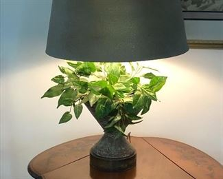 Signed Mid cent Mod lamp