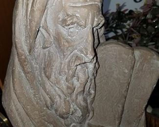 ART, MOSES AND 10 COMMANDMENTS. RELIGIOUS ART