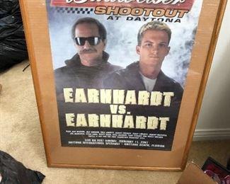Huge Earnhardt and Earnhardt Junior collectibles