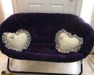 Wonderful double papasan chair