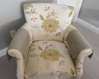 """Camden Collection Upholstered Petite Club Chair - 34""""W x 30""""D x 34""""H"""