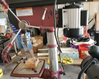 Drill Press.  Say yes to the Press