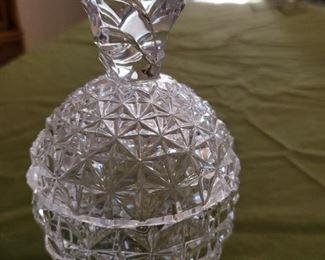 Pineapple Crystal Jar