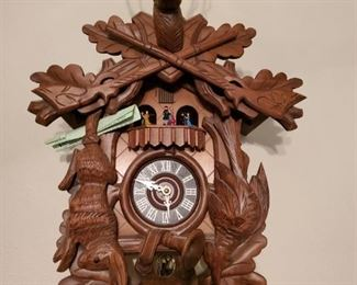 Cuckoo Clock.  Works Great.  From the Black Forrest I believe