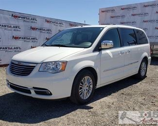 100: 	 2011 Chrysler Town & Country Van Very nice 2011 Town & Country with power windows doorlocks and windows, back up camera, Sirius XM compatable, leather seats, handsfree steering wheel controls, 2 tv's in the rear, 4 Michelin tires with plenty of tread, adjustable coot pedals, bucket seats in the middle row, a bench seat in the 3rd row, dual climate control in the front, power rear sliding doors, remote start, stoe away seating power rear stoe away, power lift gate. Year: 2011  Make: Chrysler  Model: Town & Country  Vehicle Type: Van  Mileage: 27,097  Plate: 6RIL865  Body Type: 4 Door Van; Extended  Trim Level: Limited  Drive Line: FWD  Engine Type: V6, 3.6L; FFV  Fuel Type: Gasoline/E85  Horsepower:  Transmission:  VIN #: 2A4RR6DG5BR687910  DMV AND Others Fees TBD
