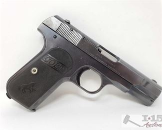 306: 	 Colt 1903 Semi Auto .32 Caliber Pistol, Ca Transfer Available Serial Number: 282340 Barrel Length: 4""