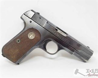 307:	 Colt 1903 Semi Auto .32 Caliber Pistol, Ca Transfer Available Serial Number: 481389 Barrel Length: 4""