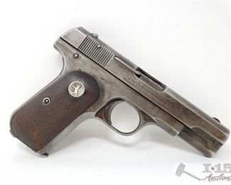 308: 	 Colt 1908 Semi-Auto .380 Pistol, Ca Transfer Available Serial Number: 105421 Barrel Length: 4""
