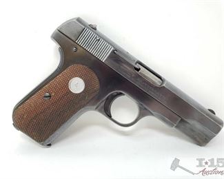309:  Colt 1903 Semi Auto .32 Caliber Pistol, Ca Transfer Available Serial Number: 489497 Barrel Length: 4""