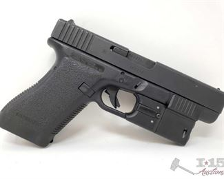 310: 	 Glock 20 Semi-Auto 10mm Pistol, Ca Transfer Available Serial Number: AEU213 Barrel Length: 4.61""