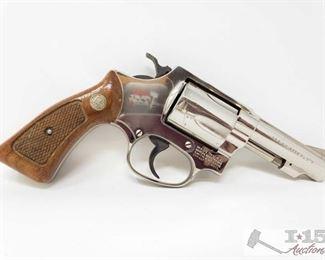 "375:  Smith & Wesson Mod 36-1 .38 Spl Revolver, CA Transfer Available Serial Number: J936324 Barrel Length: 3"""