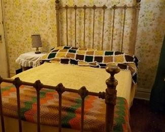 Beds and other antique furniture