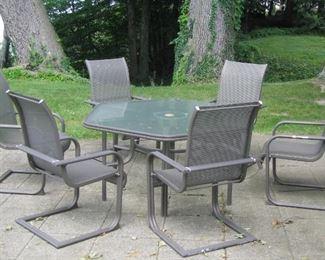 More patio furniture