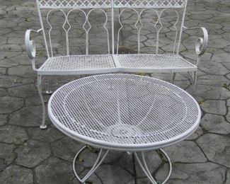 Yep, patio furniture