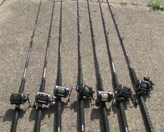 Nice fishing rods/reels