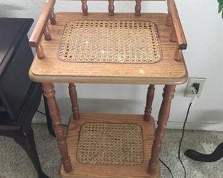 Wicker Telephone Table