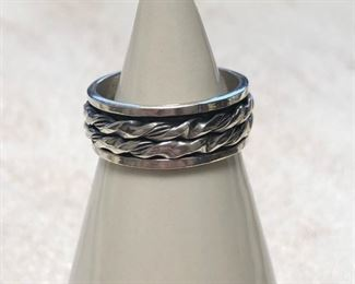 Designer Sterling Silver Ring