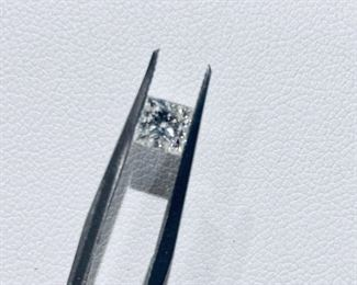 $2654 Natural Princess Cut Loose Diamond
