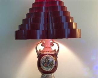 Cool Lamp With Vintage Shade