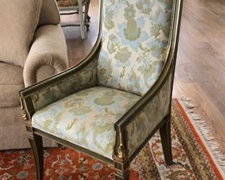 Mid-century French Louis XVI-Directoire style armchair